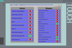 Software SCADA siemens WinCC Caldaia