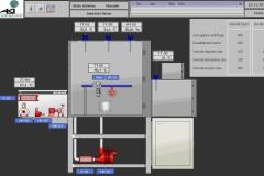 Software SCADA siemens WinCC sinottico